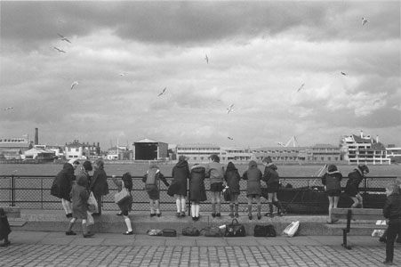 Photo of children near Greenwich Pier